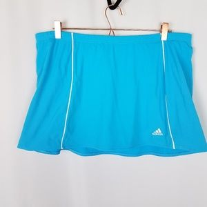 Adidas Womens Tennis/Golf Blue Skort Size XL